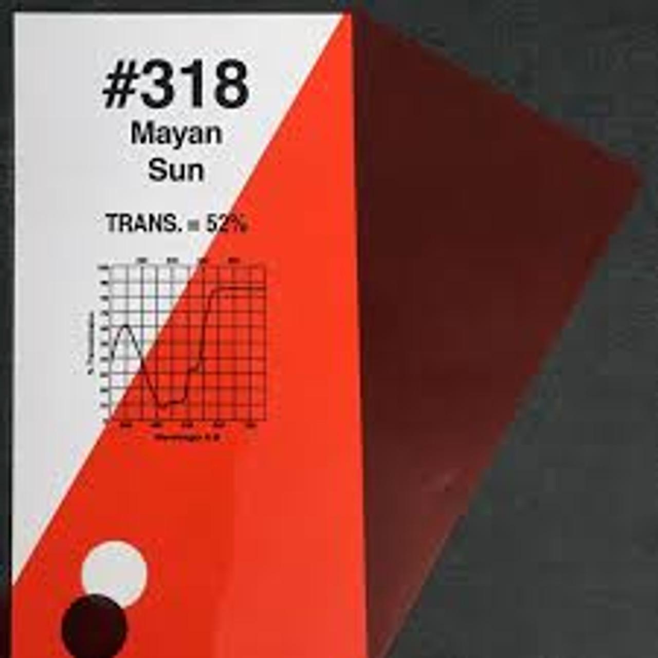 """#0318 Rosco Gels Roscolux Mayan Sun, 20x24"""""""