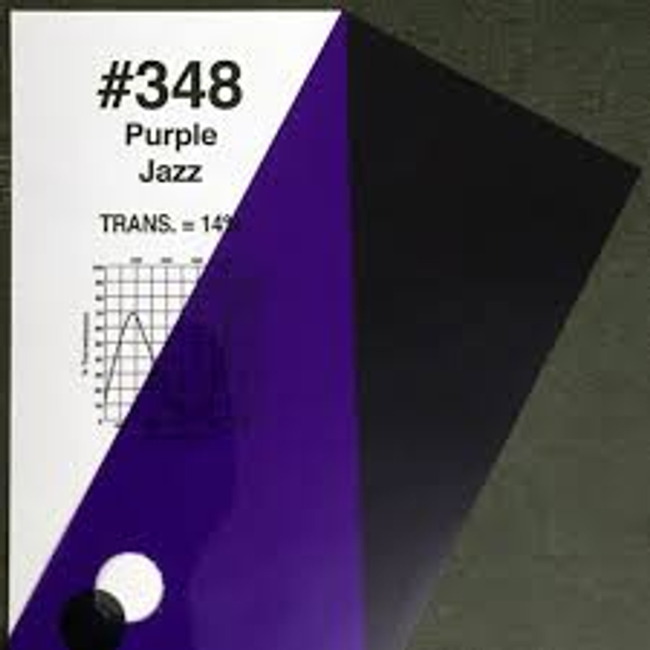 #0348 Rosco Gels Roscolux Purple Jazz, 20x24""
