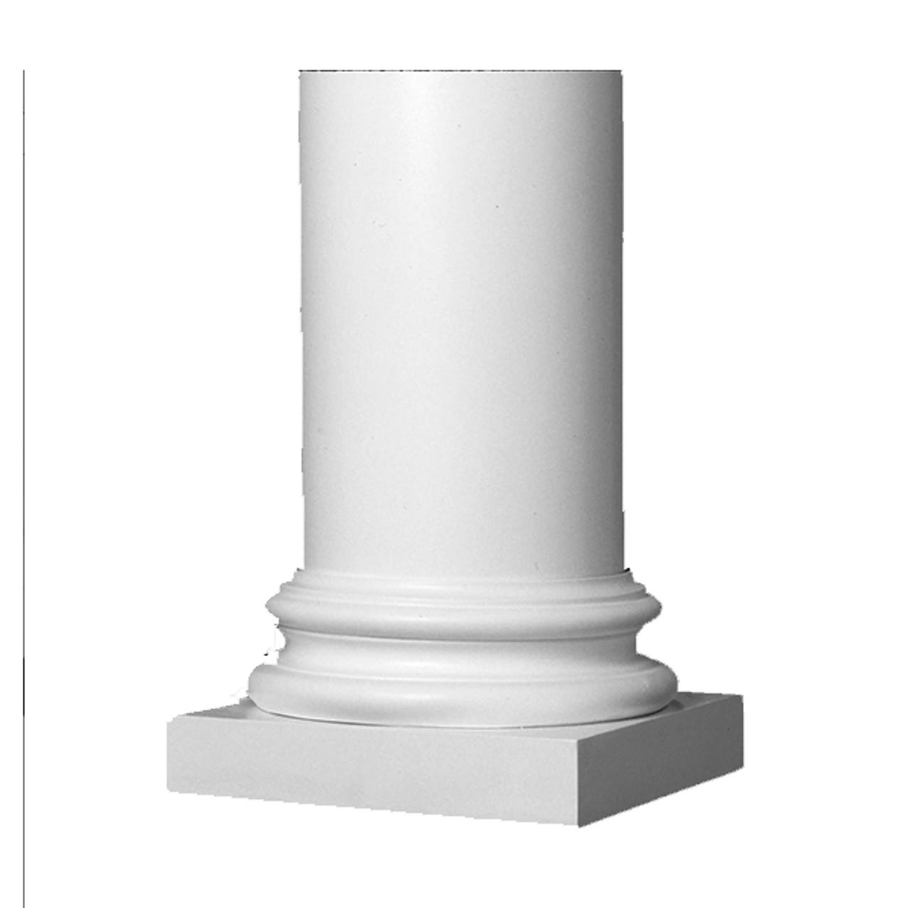Column 8' Plain Roman Column