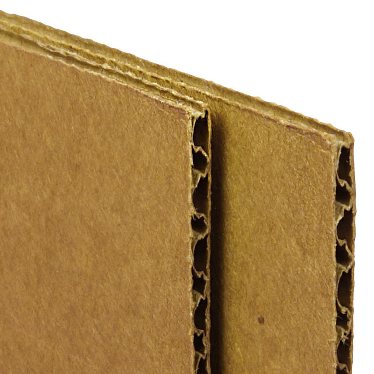 """Kraft"" Color Corrugated Cardboard Sheets 4'x8' Floor Protection"