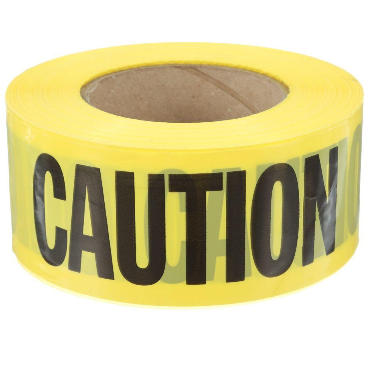 """Caution Cable"" Tape- 3"" x 60 yd."