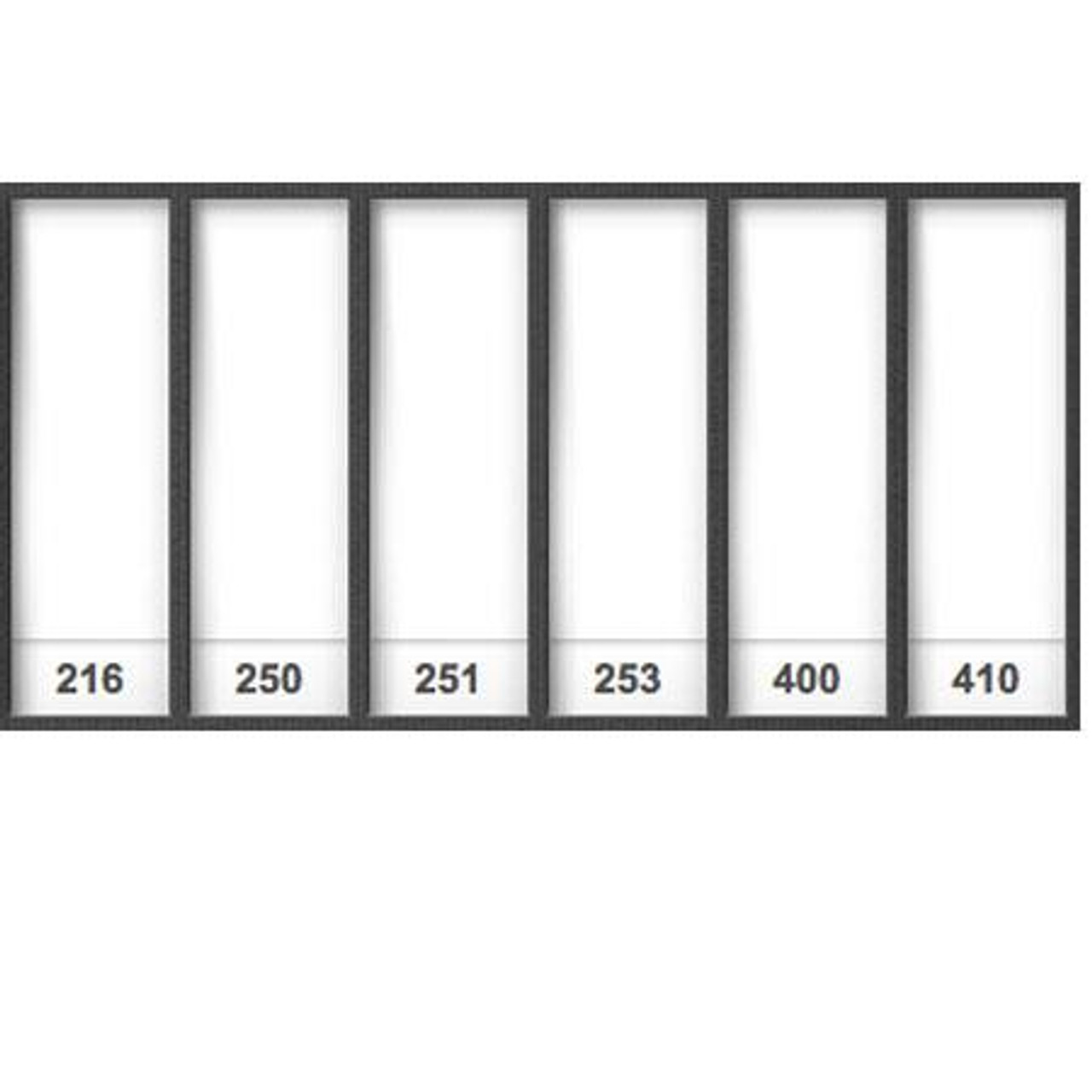 507 - Diffusion Pack (12 Sheets), Gels