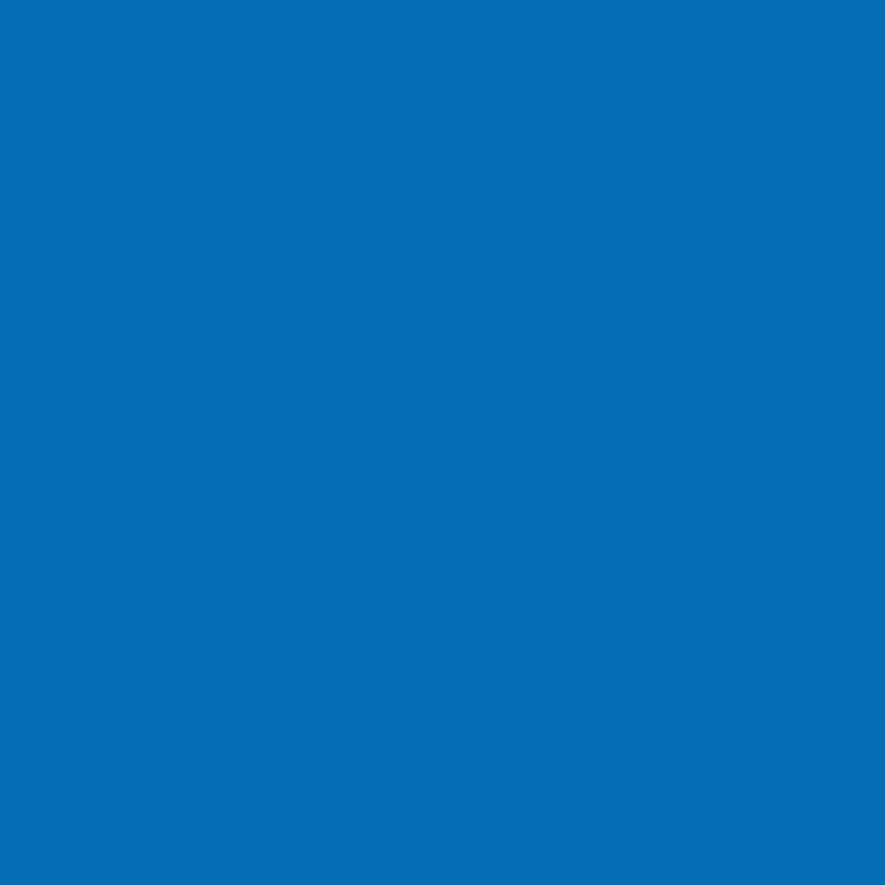 "#2007 Rosco Gels Roscolux Storaro Blue, 20x24"""