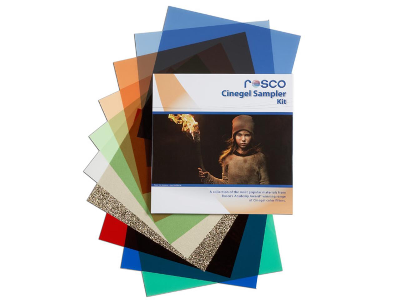 Rosco Cinegel Sampler Kit, Gels