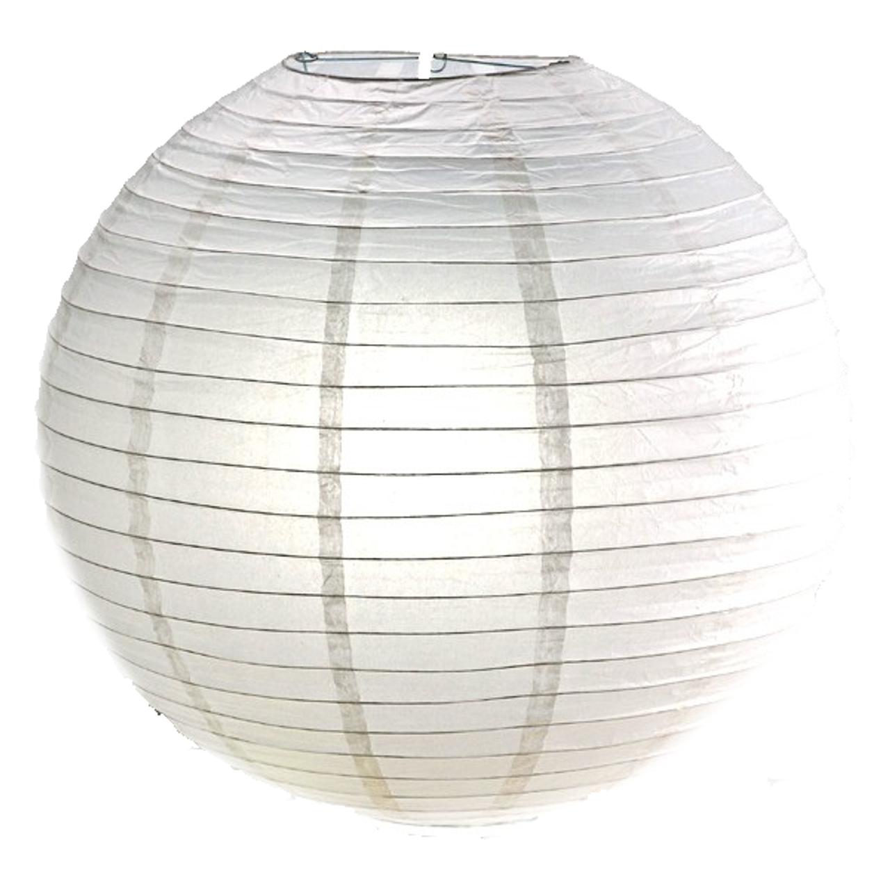 White Paper Lanterns A K A China Ball 20