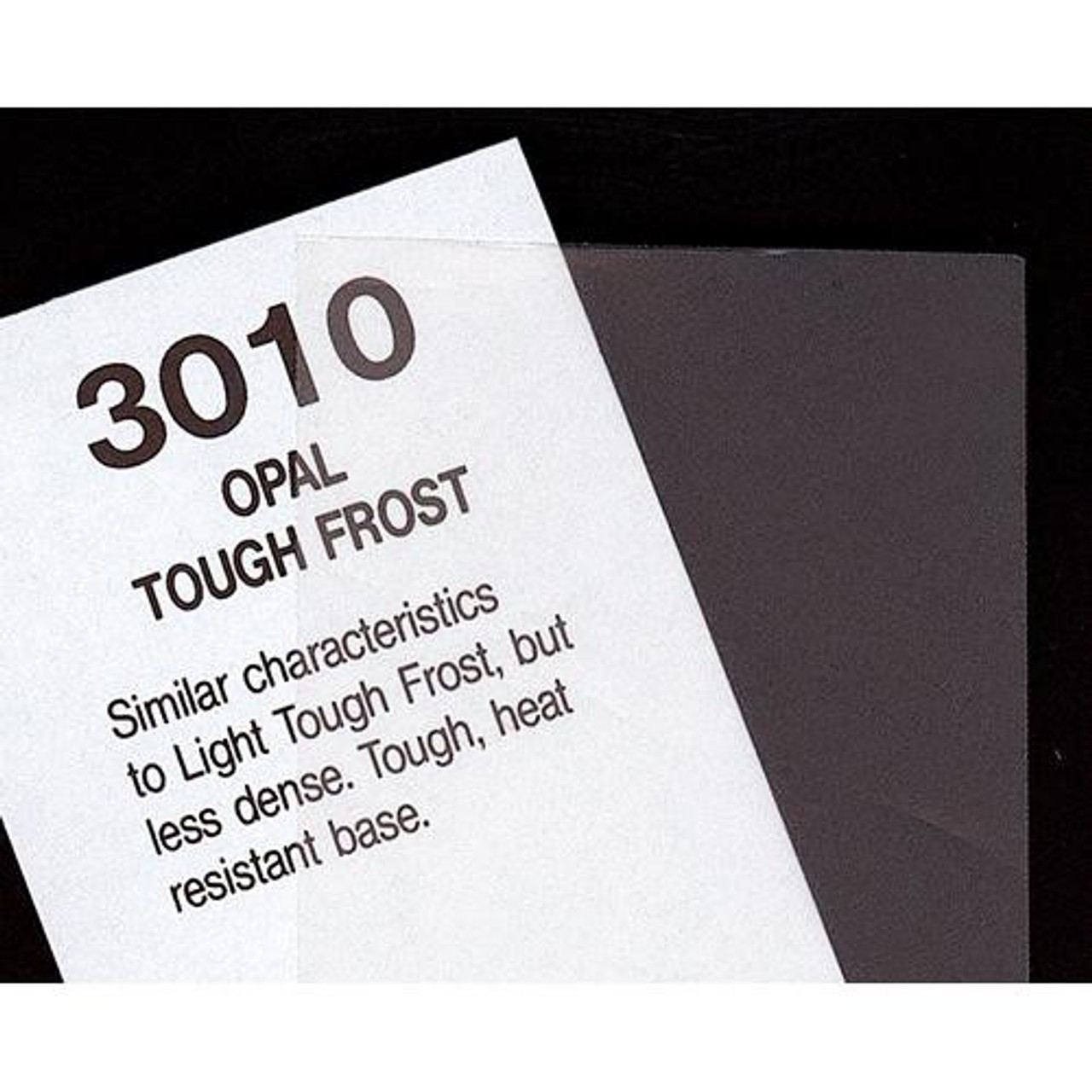 "#3010 Rosco Cinegel Opal Tough Frost, 20x24"", Gels"