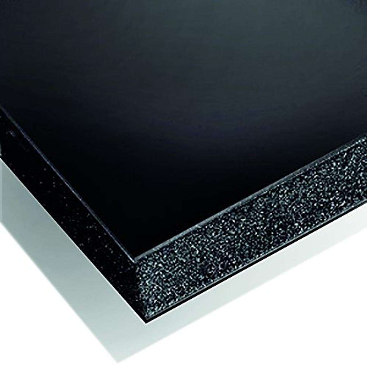 "Gator Board -  Black/Black - 4' x 8' x 3/16"""