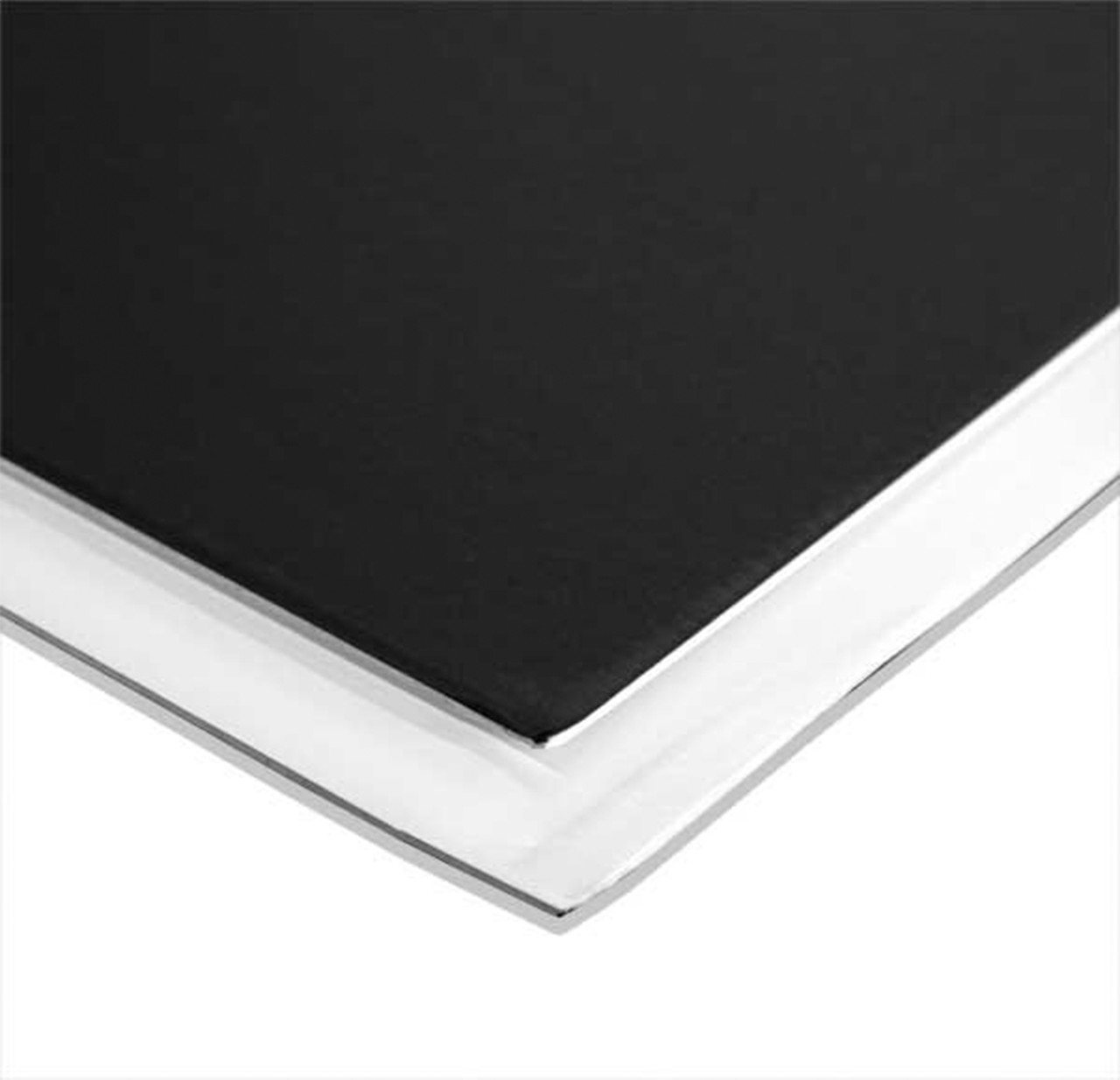 "Foamboard - Black/White - 4' x 10' x 1/2"""