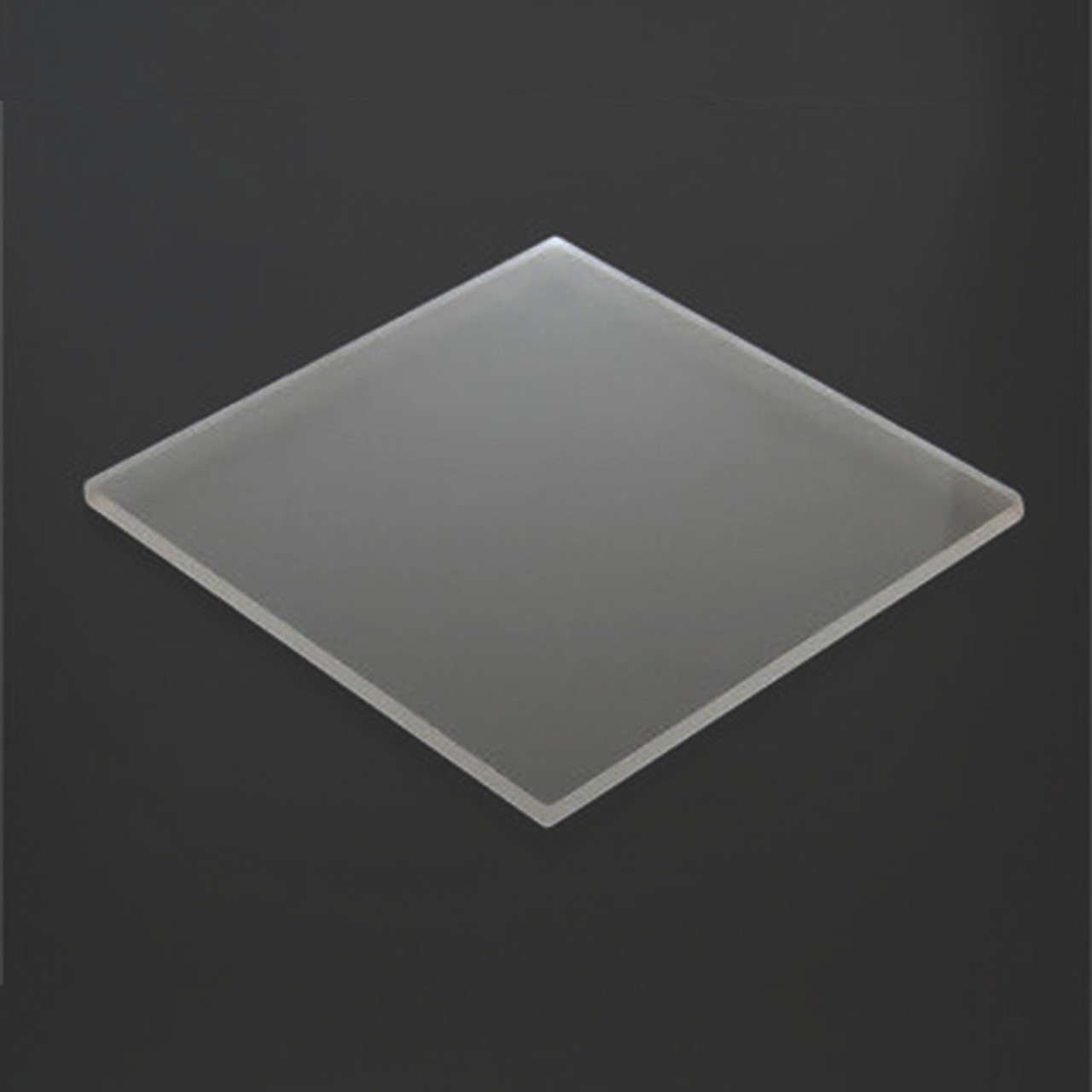 "1/4"" Clear Acrylic Sheet P95 4'x8'  (1 Side Matte)"