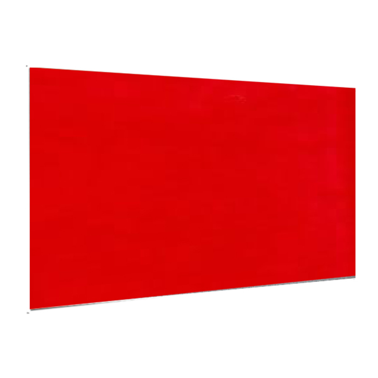 "Showcard -Scarlet Red - 28"" x 44"""