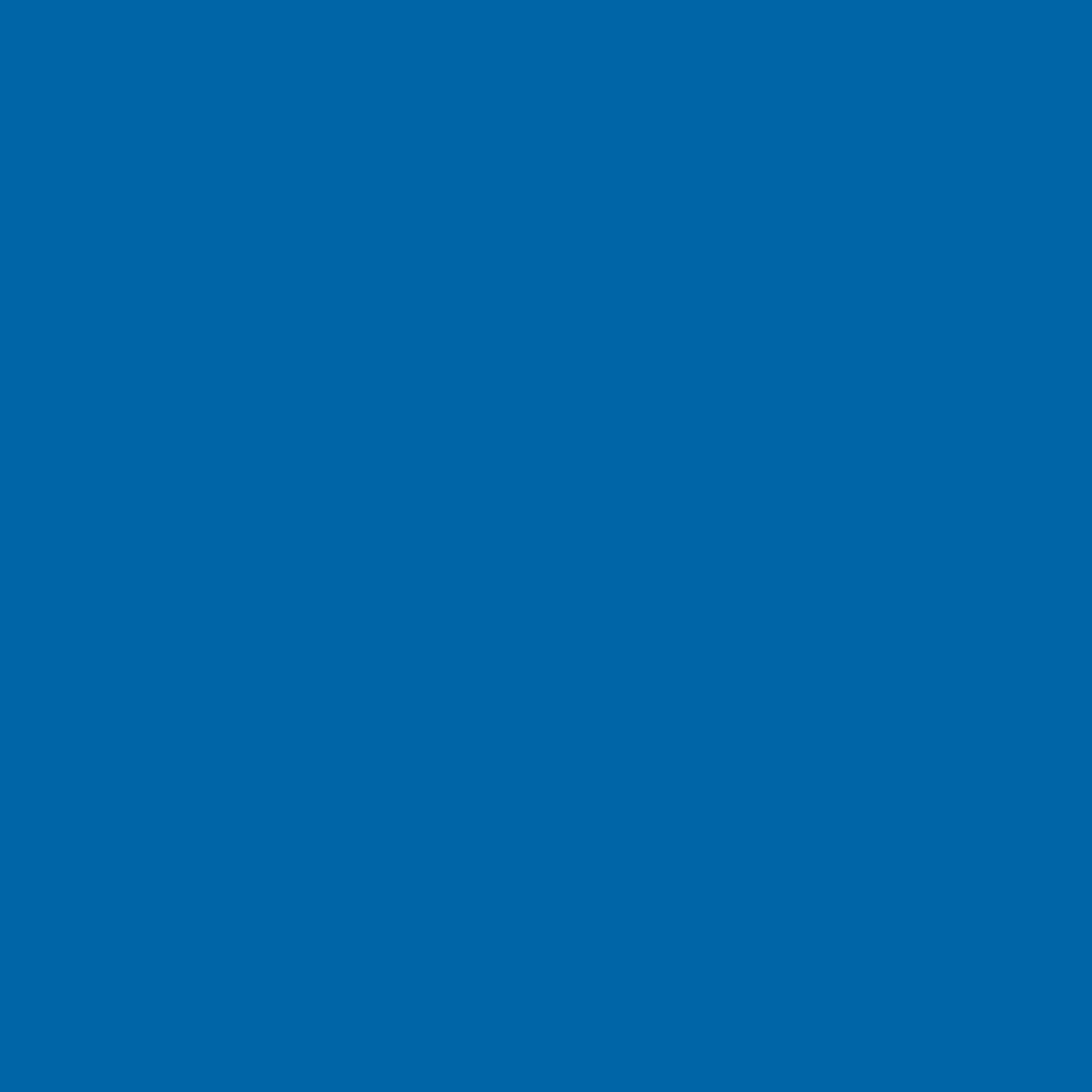 "#0079 Rosco Gels Roscolux Bright Blue, 20x24"""