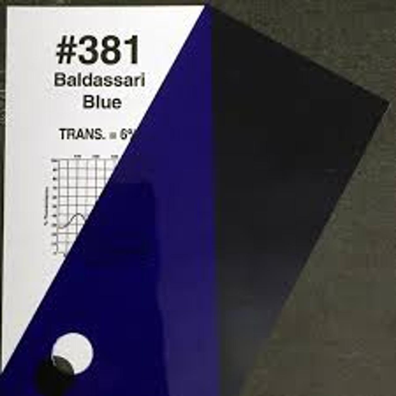 #0381 Rosco Gels Roscolux Baldassari Blue