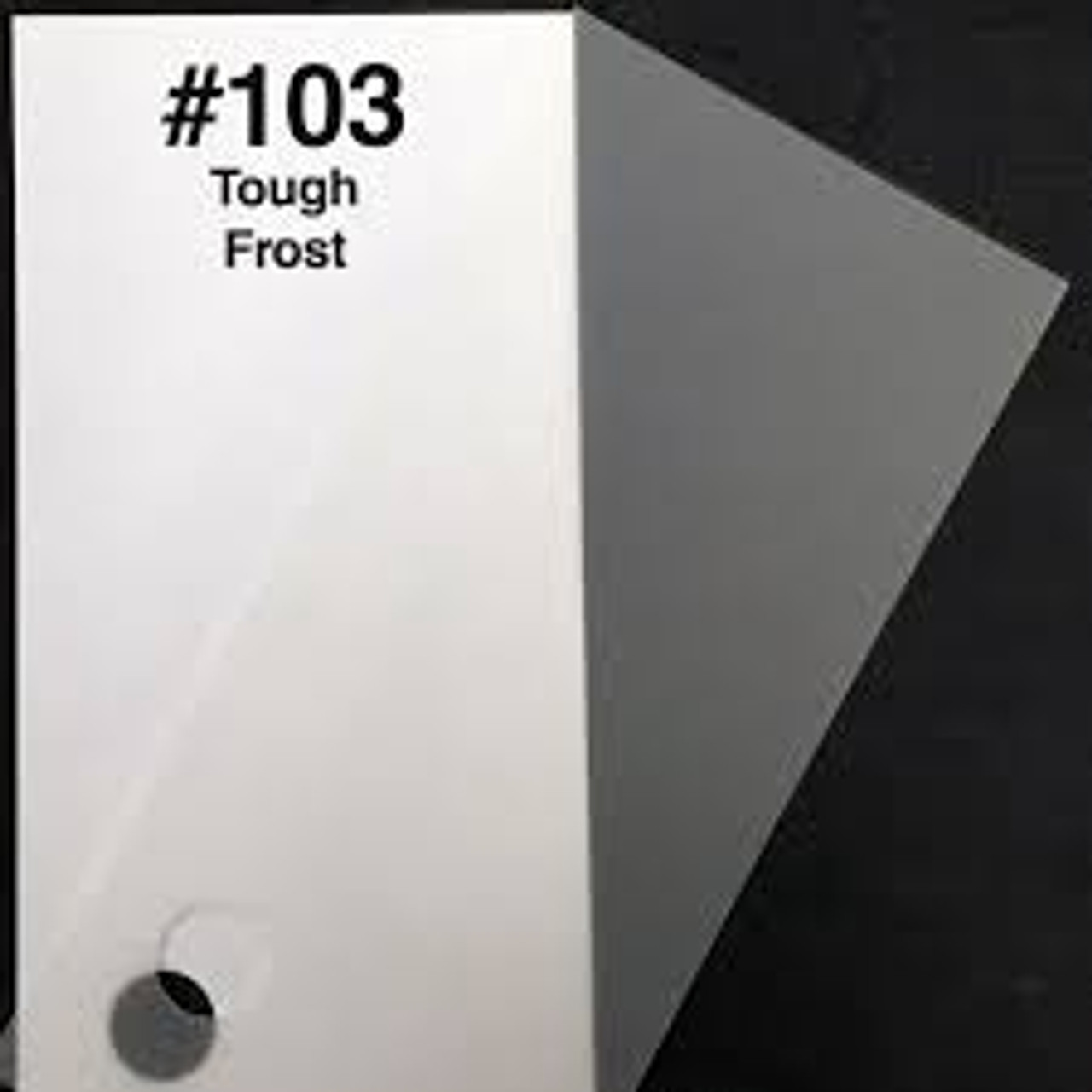 #0103 Rosco Gels Roscolux Tough Frost, 20x24""