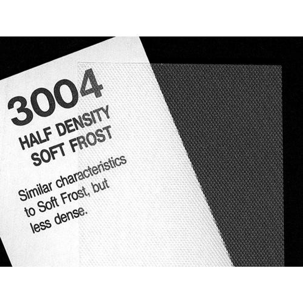 "#3004 Rosco Cinegel Half Density Soft Frost, 20x24"", Gels"
