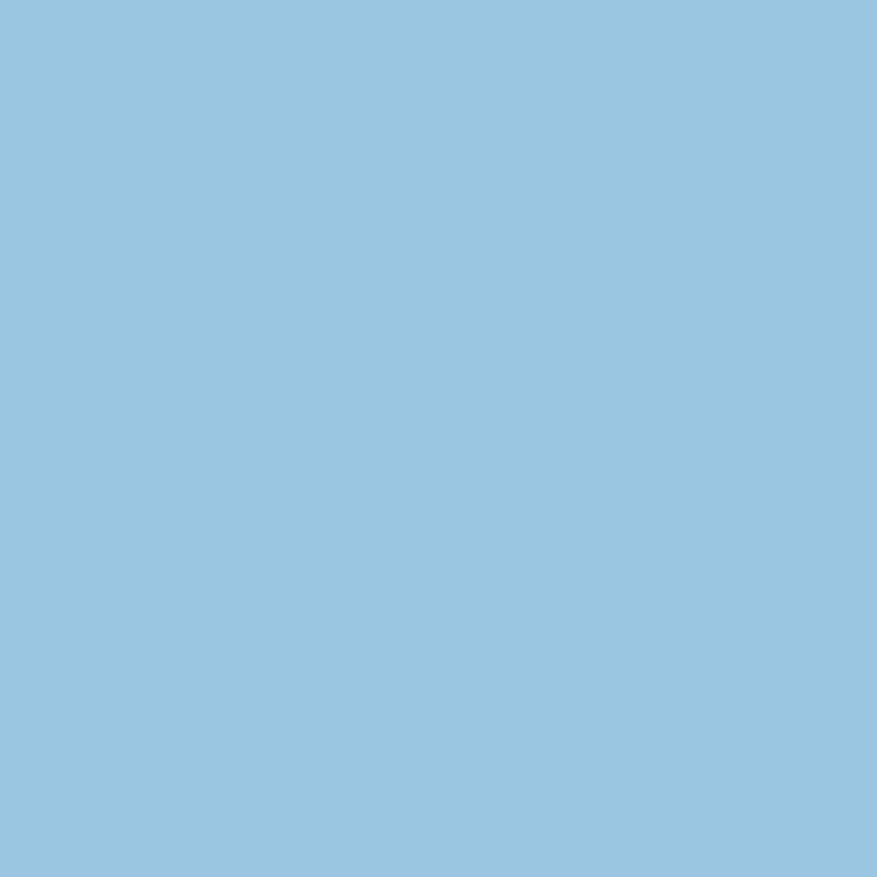 Rosco Cinegel Sheet #3208: Quarter Blue (1/4 CTB), Gels