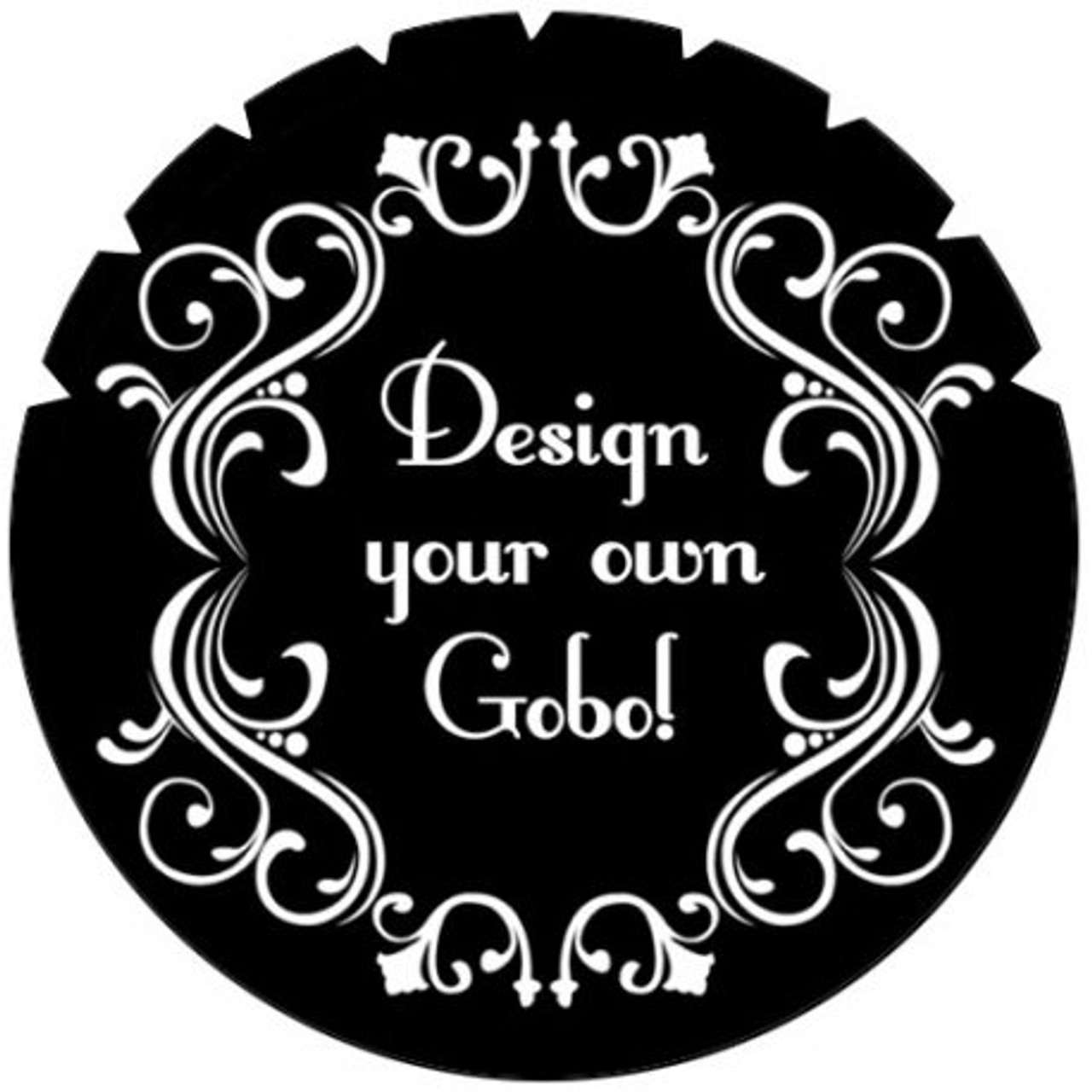 Gobo Custom High Definition Steel Gobos