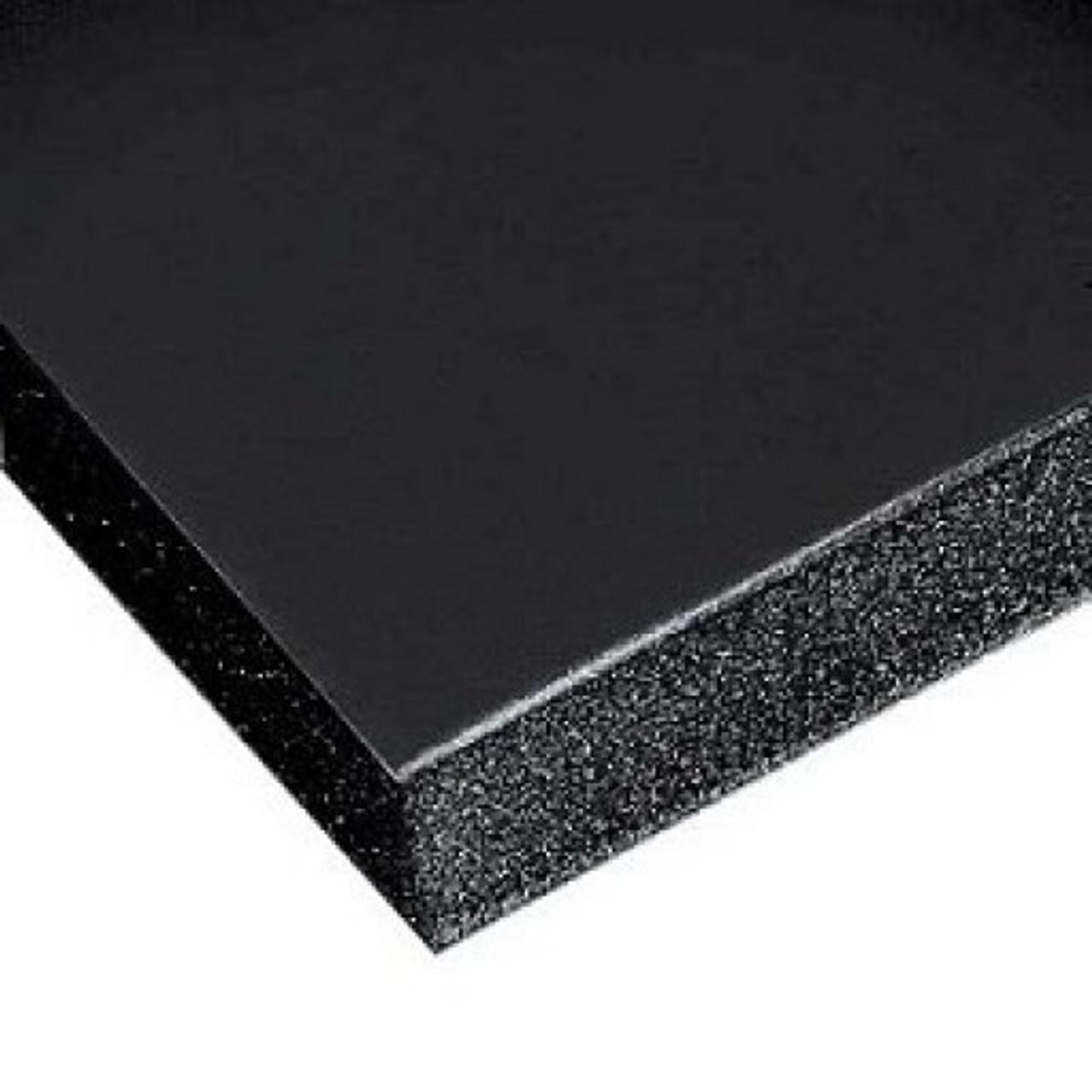 "Gator Board - Black/Black -  4' x 8' x 1/2"""