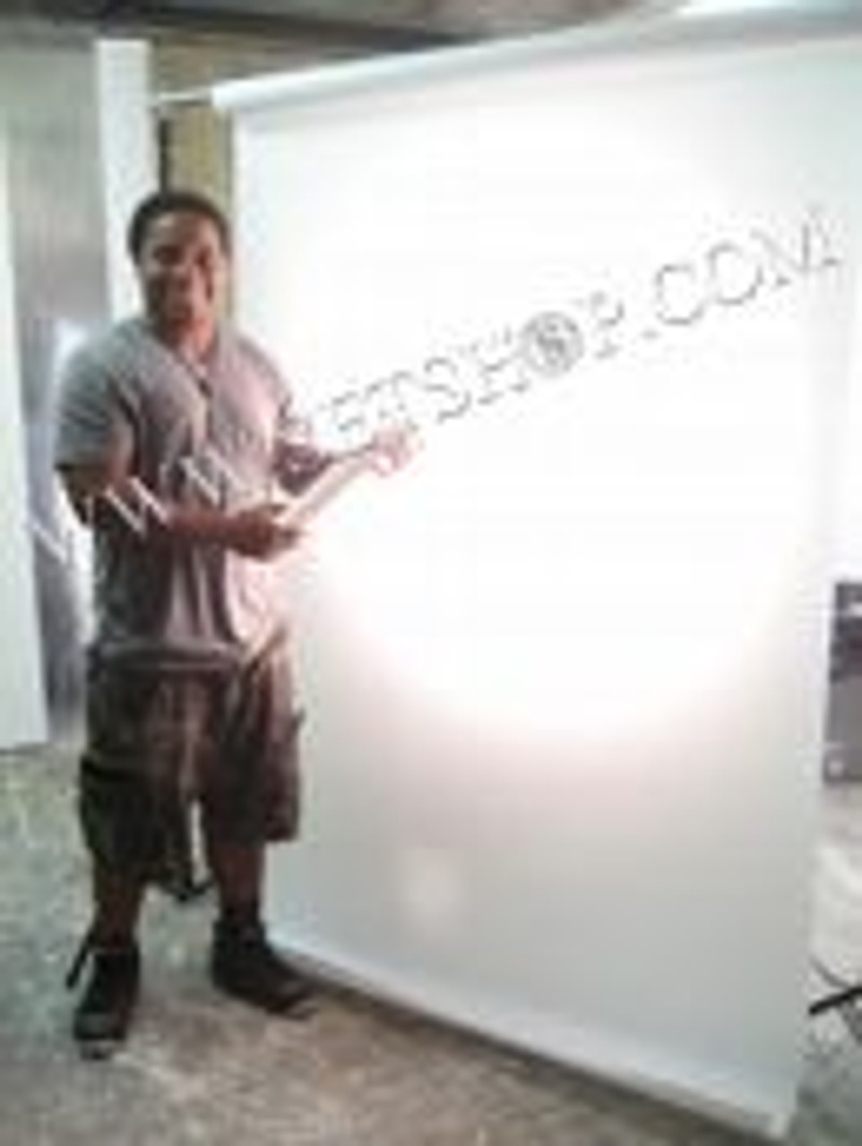 Trans Lux 4' x 25' White Background Material