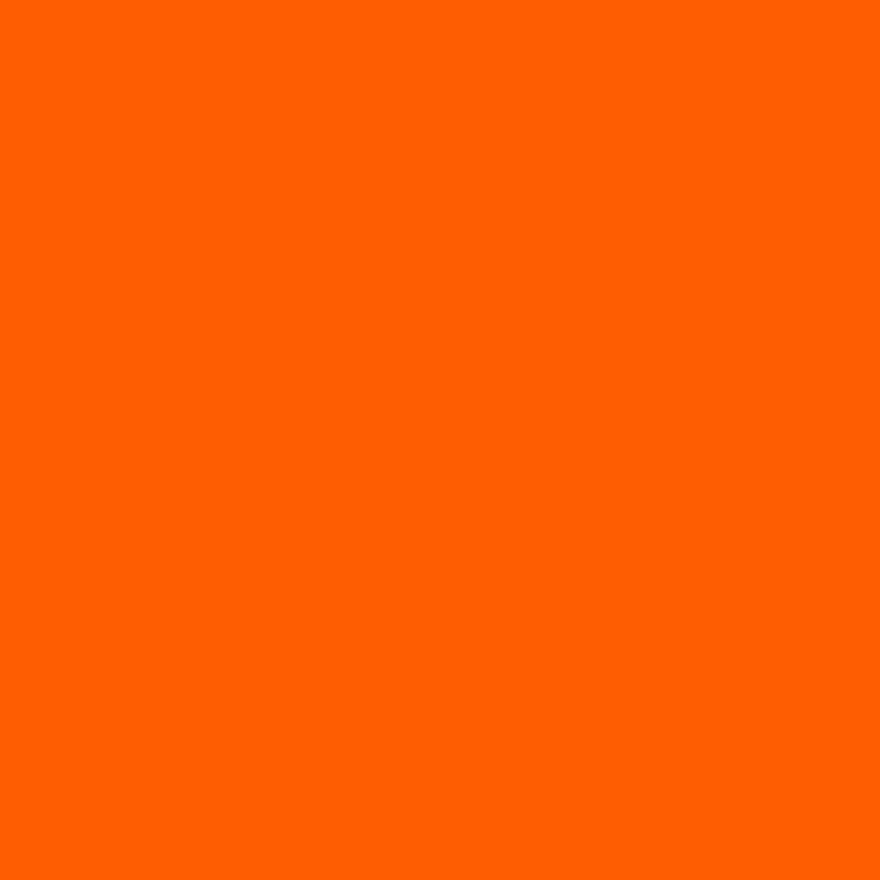 "#0023 Rosco Gels Roscolux Orange, 20x24"""