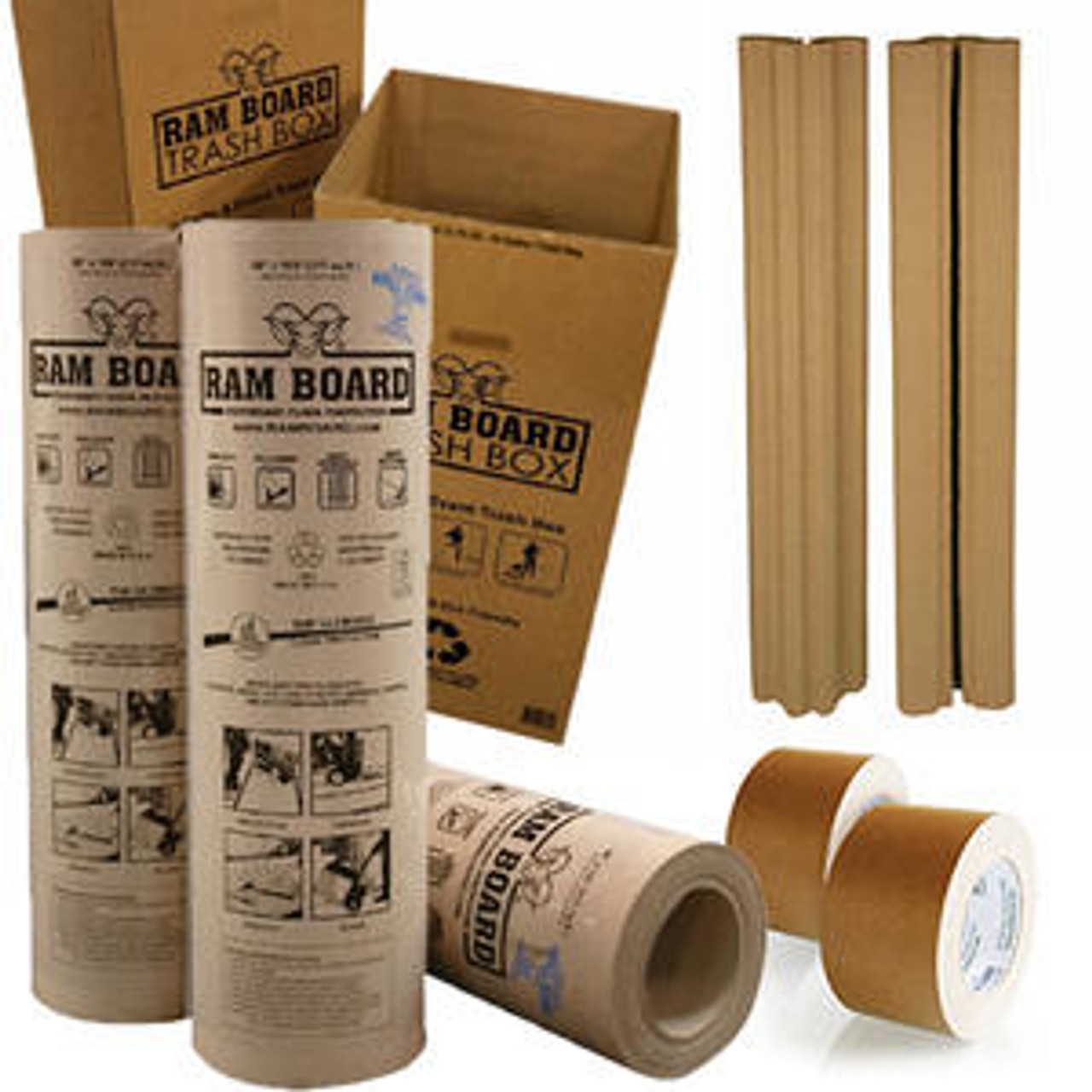 "Ram Board Roll 48"" x 100' Floor Protection"