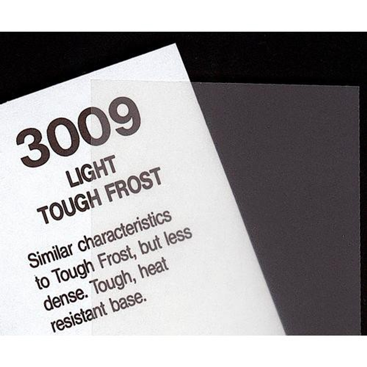 "#3009 Rosco Cinegel Light Tough Frost, 20x24"", Gels"