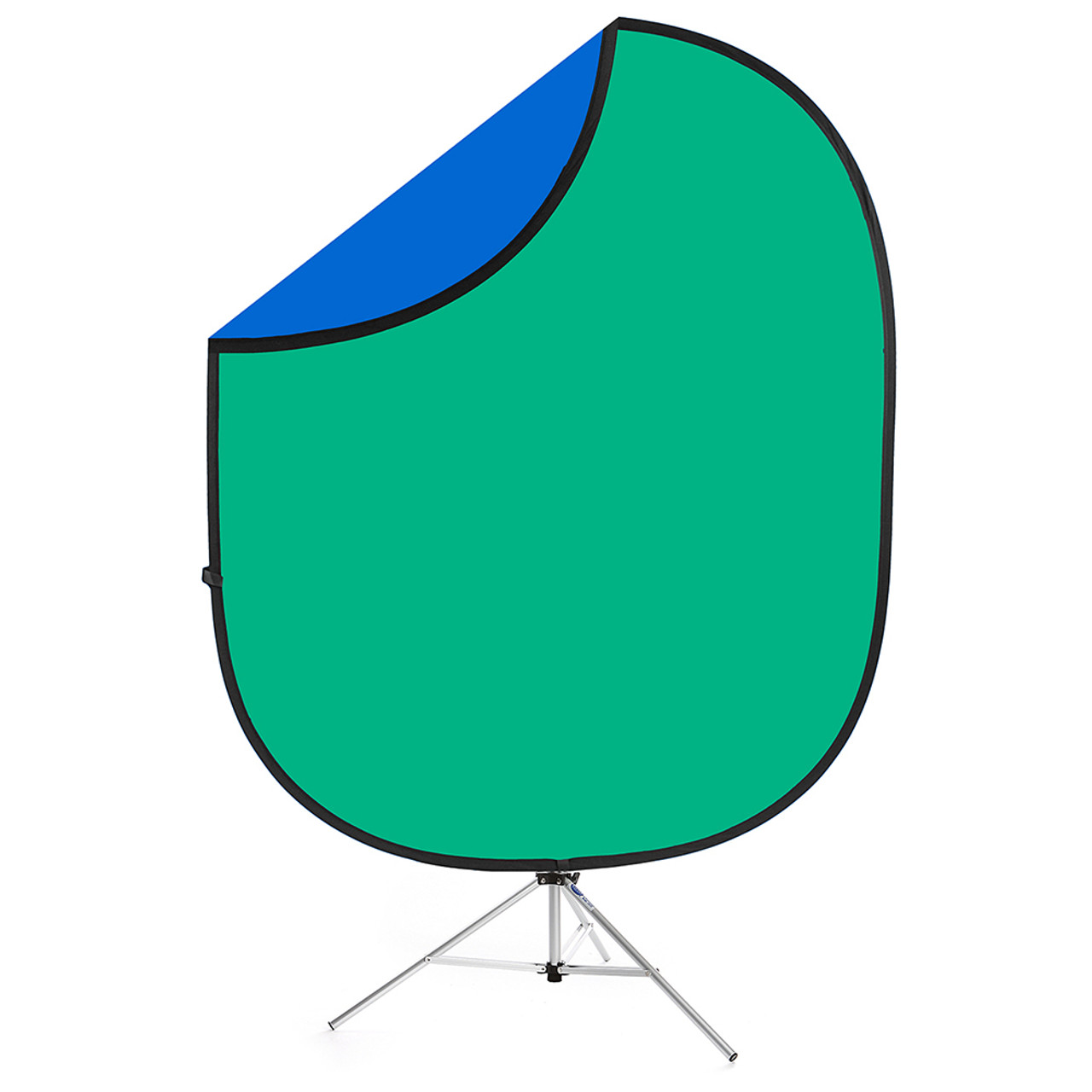 Collapsible Background Chromakey Green / Blue, Green Screen 6'x7'