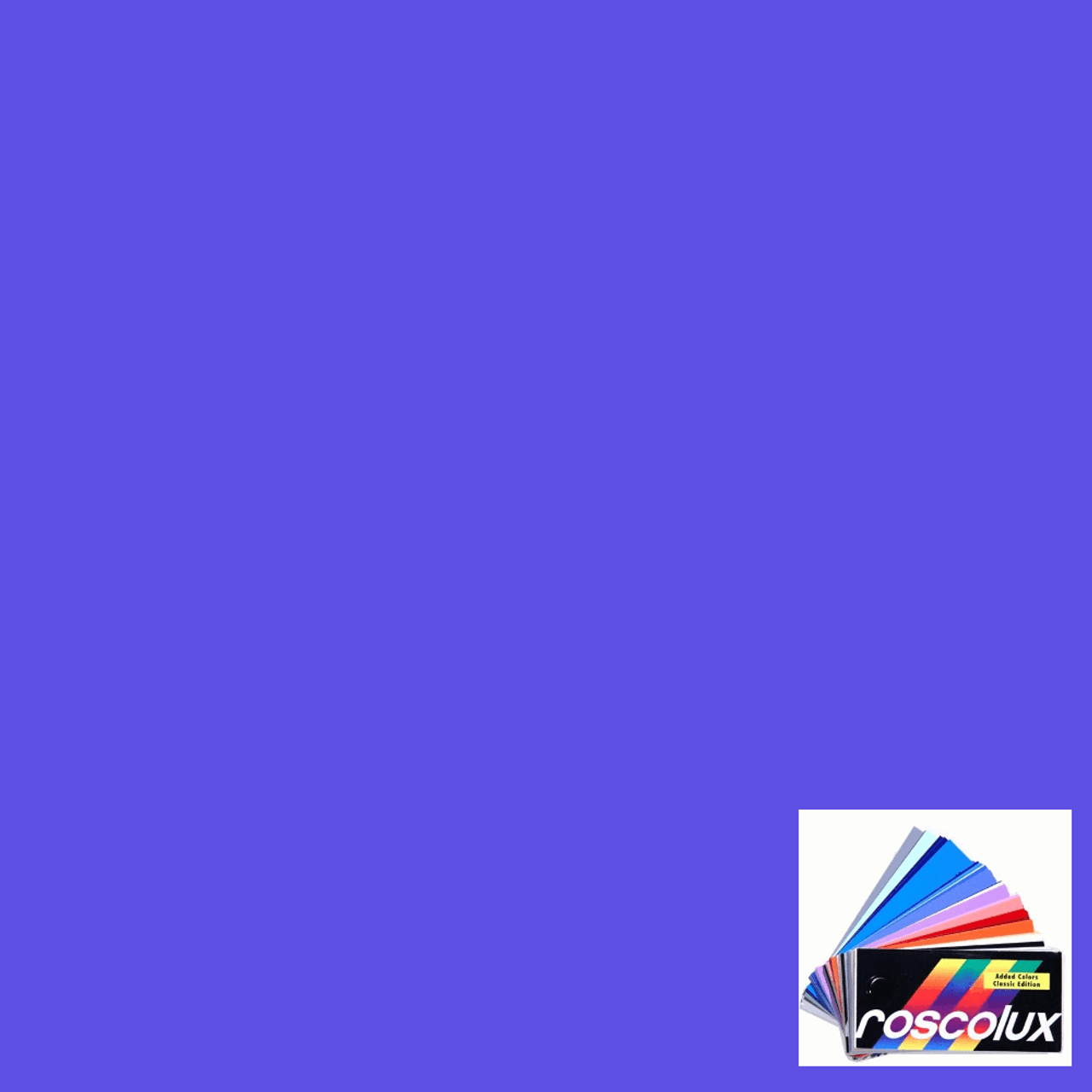 #4260 Rosco Gels Roscolux CalColor 60 Blue, 20x24""