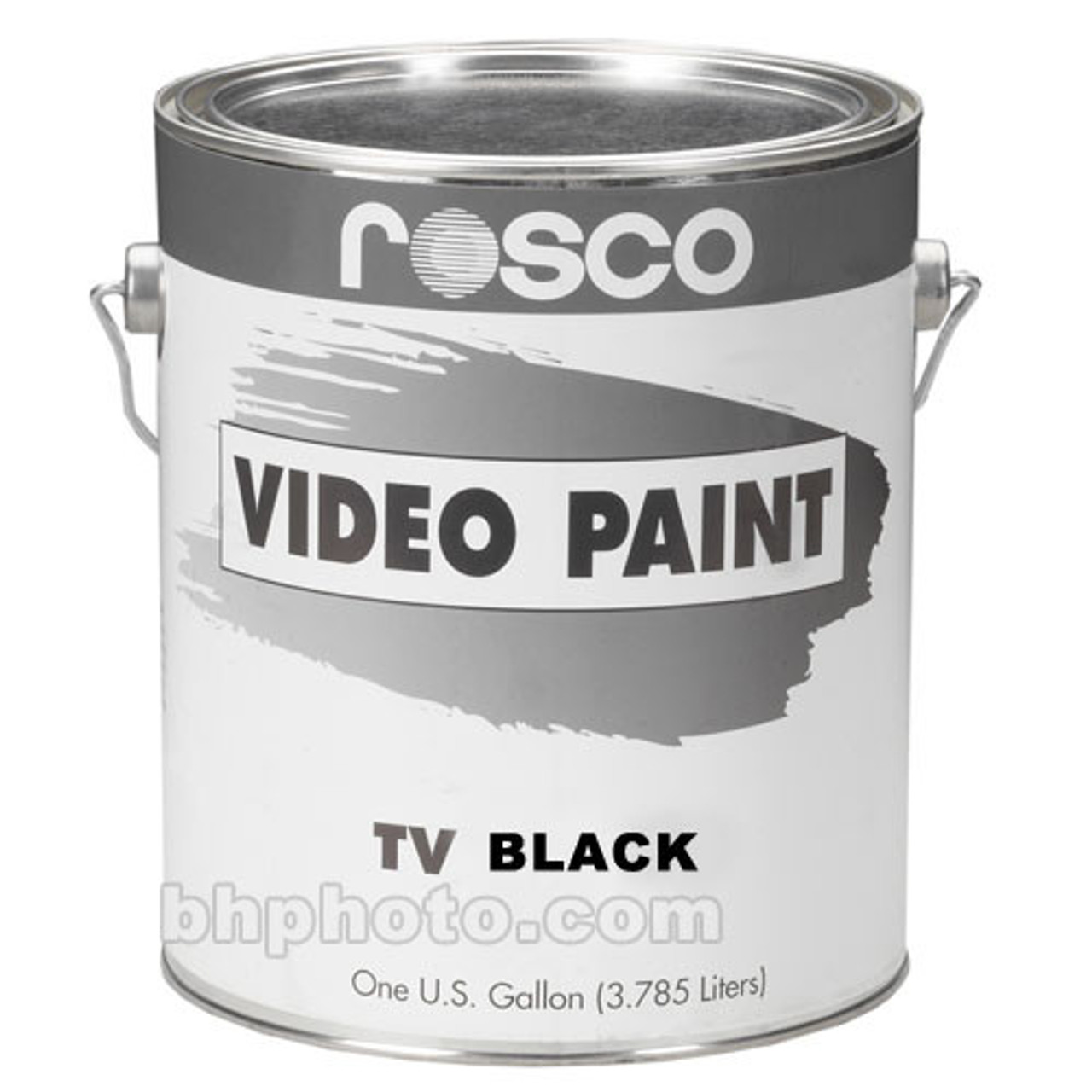 Rosco TV Paints Black - Gallon, Green Screen