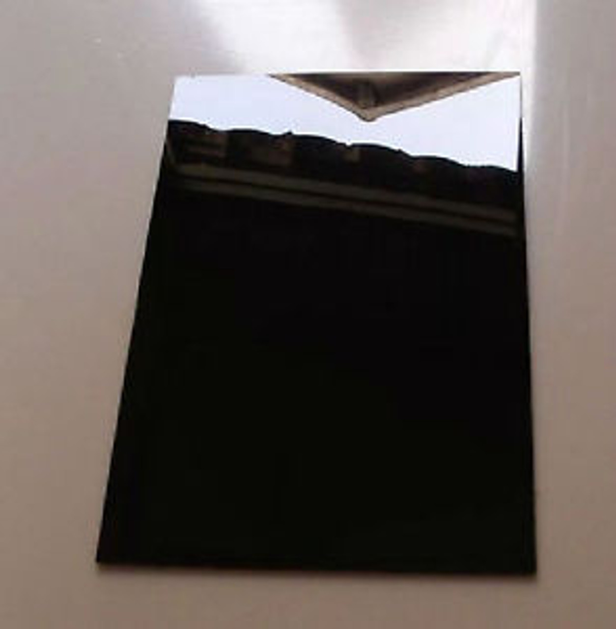 "4' x 8' x 1/8"" Opaque Black Acrylic Sheet - Glossy"