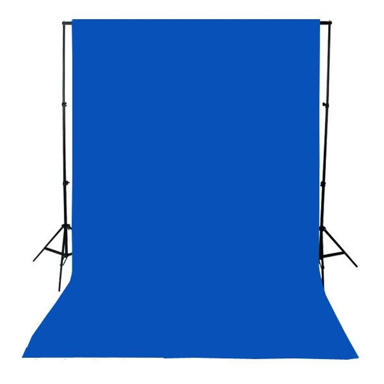 Digital Blue Poly Muslin Key Fabric 10'- Per Yard