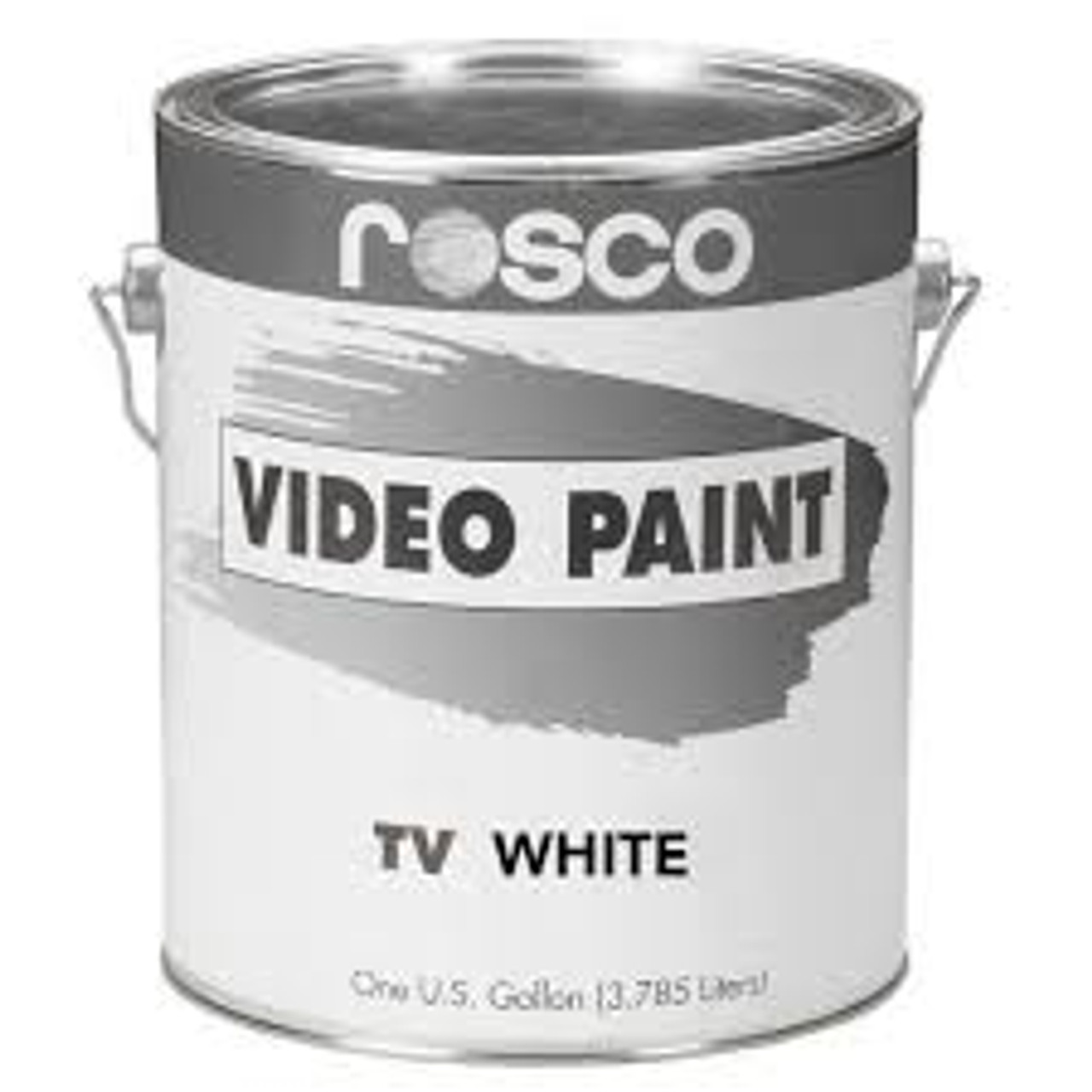 Rosco TV Paints White - Gallon, Green Screen