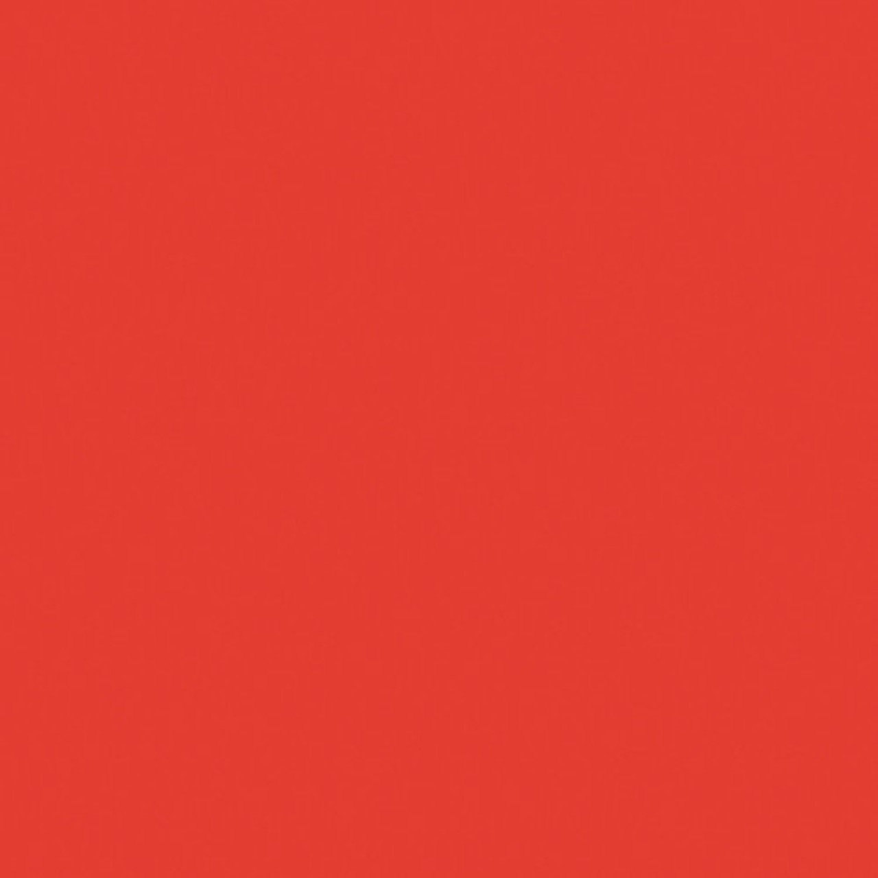 #4660 Rosco Gels Roscolux CalColor 60 Red, 20x24""