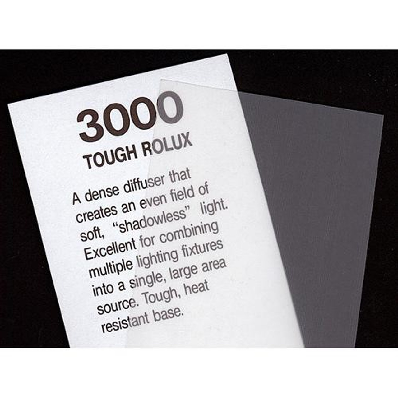 "#3000 Rosco Cinegel Tough Rolux 20x24"" Light Diffusion, Gels"