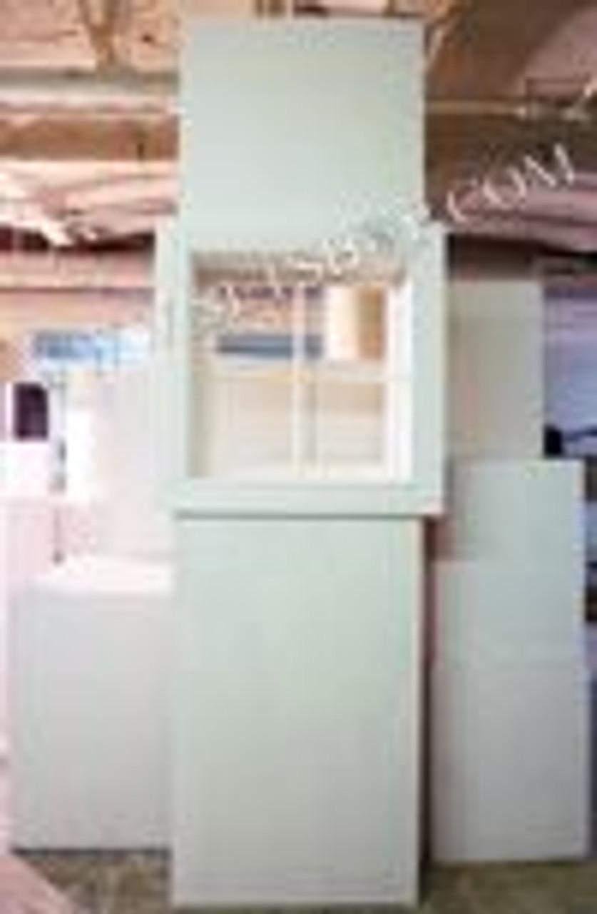Cottage Style Bathroom Window (2x8 Flat Mount)