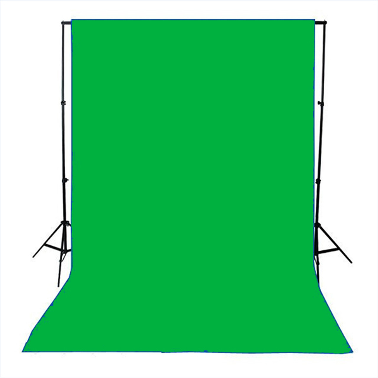 Chroma Key Green Commando Cloth / Duvetyne Flame Retardant