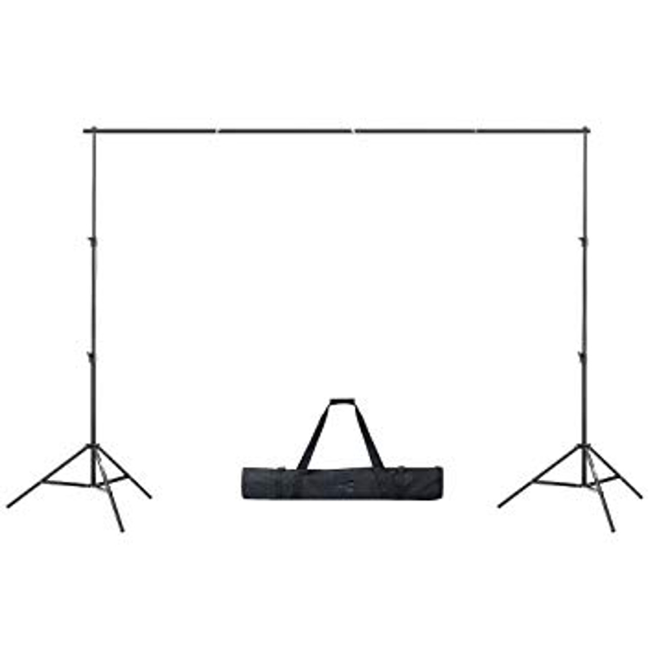 Rental - Portable Background Stand Tripod Base (2 Poles + Crossbar)