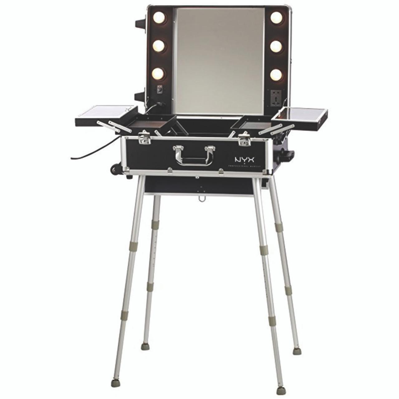 Rental - Make Up Station (Telescoping Legs w/Lights)