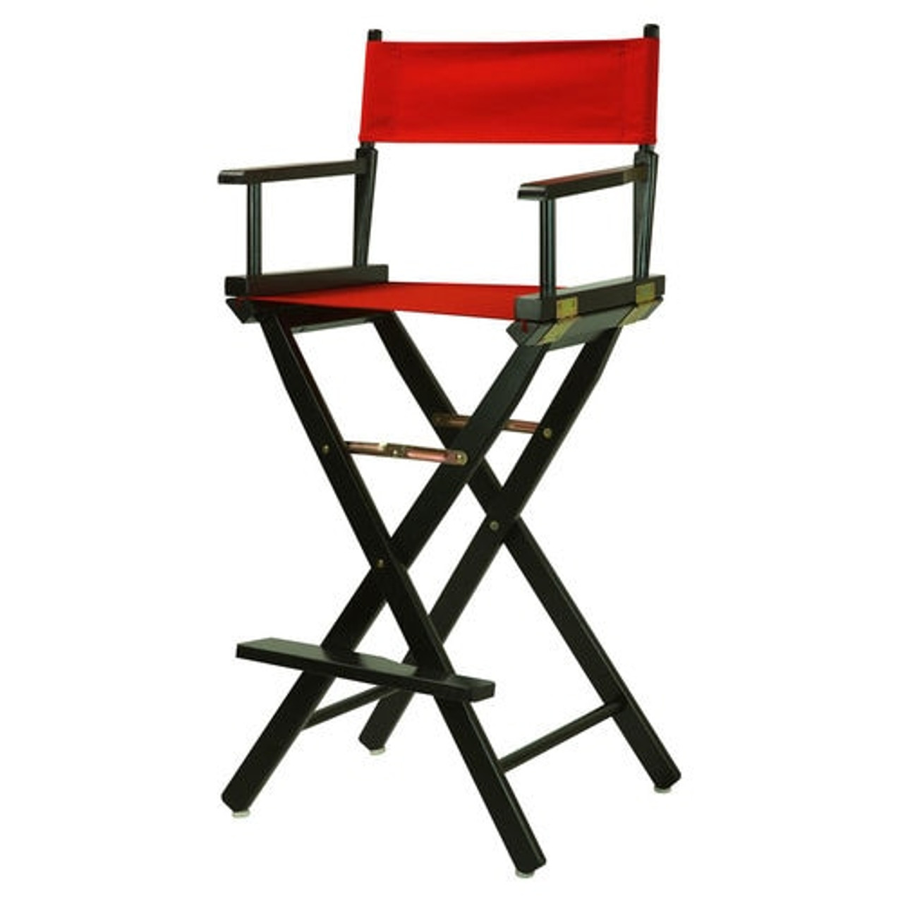 Fabulous Rental Fold Up Directors Chair 30 Black Or Red Squirreltailoven Fun Painted Chair Ideas Images Squirreltailovenorg