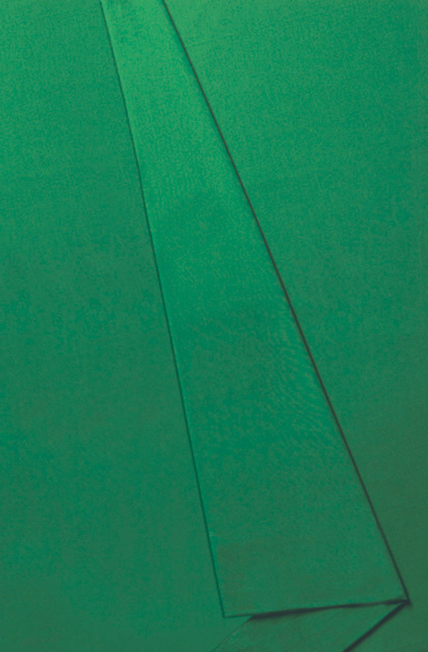 10' x 24' Solid Color Muslin, Chromakey Green Fabric