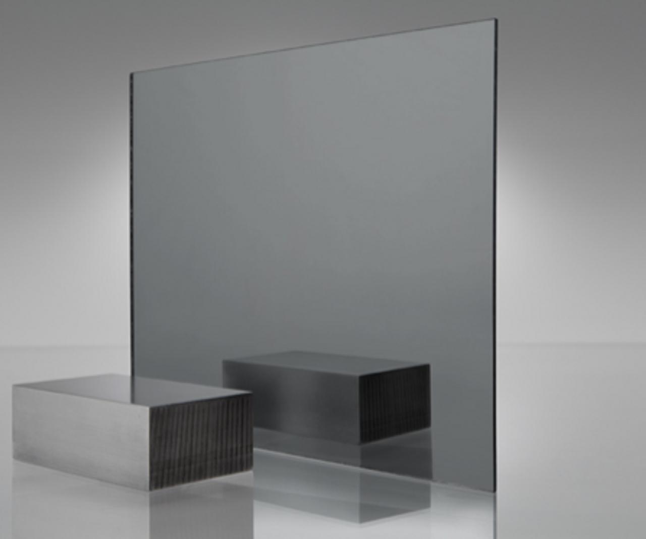 4x8' Mirrored Acrylic GREY SMOKE