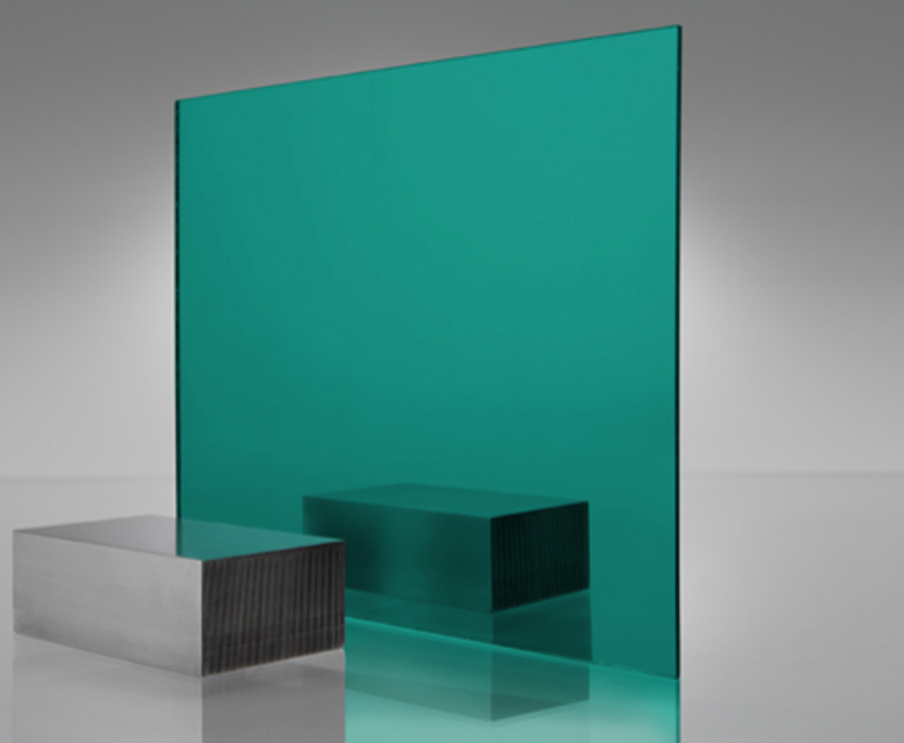 4x8' Mirrored Acrylic TEAL