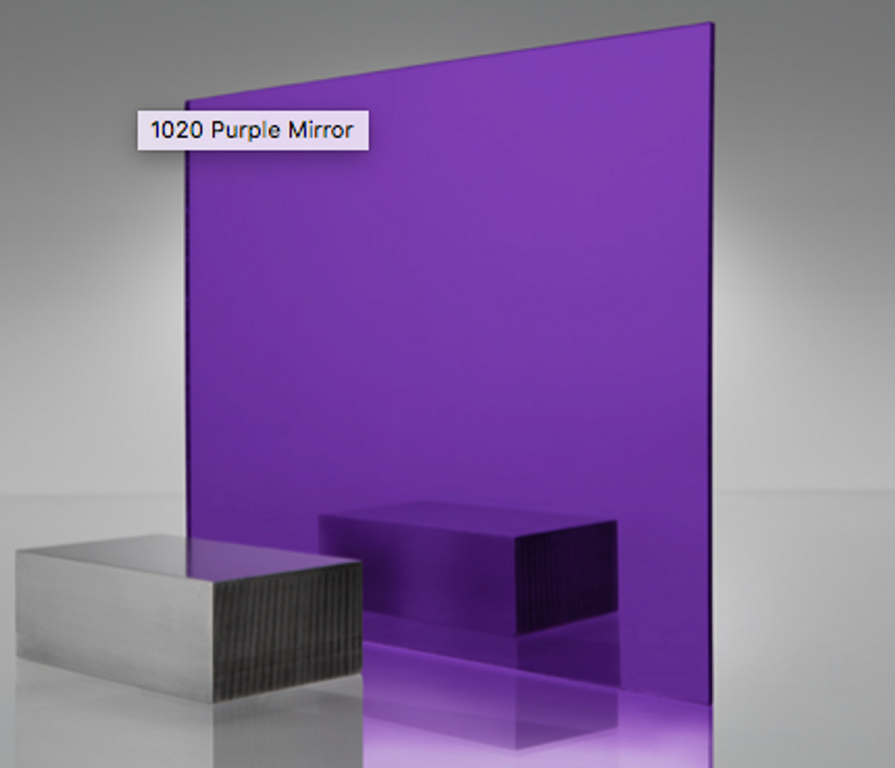 4x8' Mirrored Acrylic PURPLE