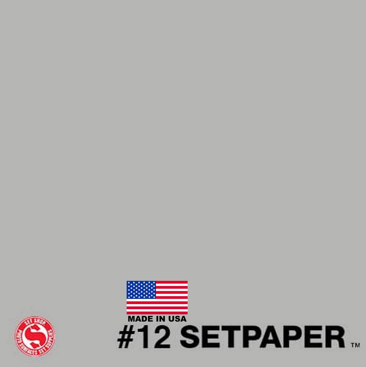 "SETPAPER - SMOKE GREY 107"" x 36' (2.7 x 11m)"