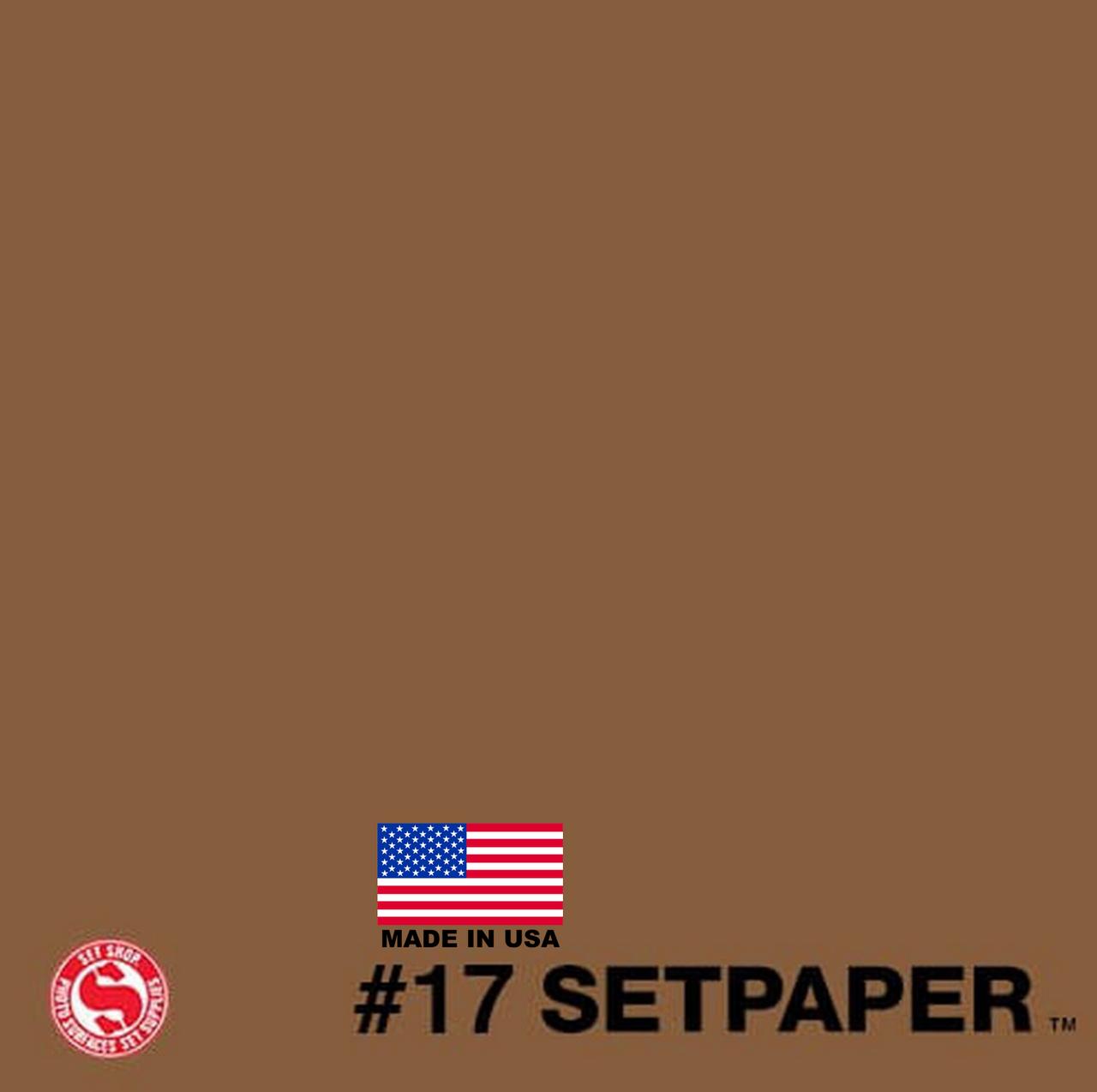 "SETPAPER - NUTMEG 107"" x 36' (2.7 x 11m)"