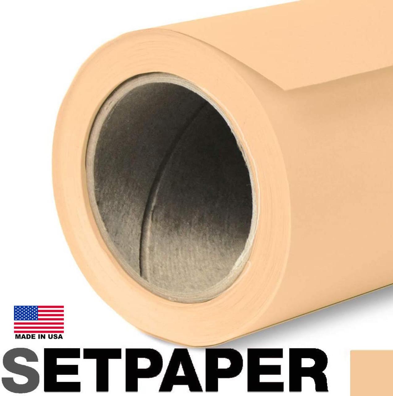 """SETPAPER - WHEAT 107"""" x 36' (2.7 x 11m)"""