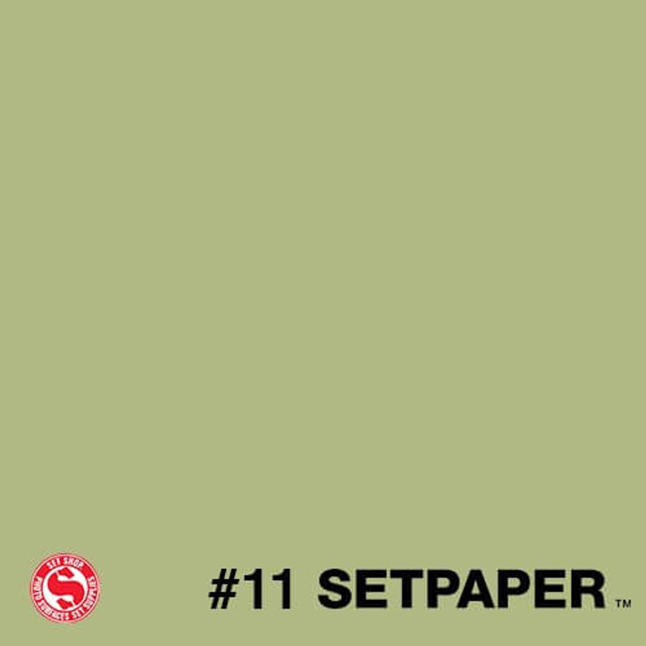 "SETPAPER - SUNNY GREEN 107"" x 36' (2.7 x 11m)"