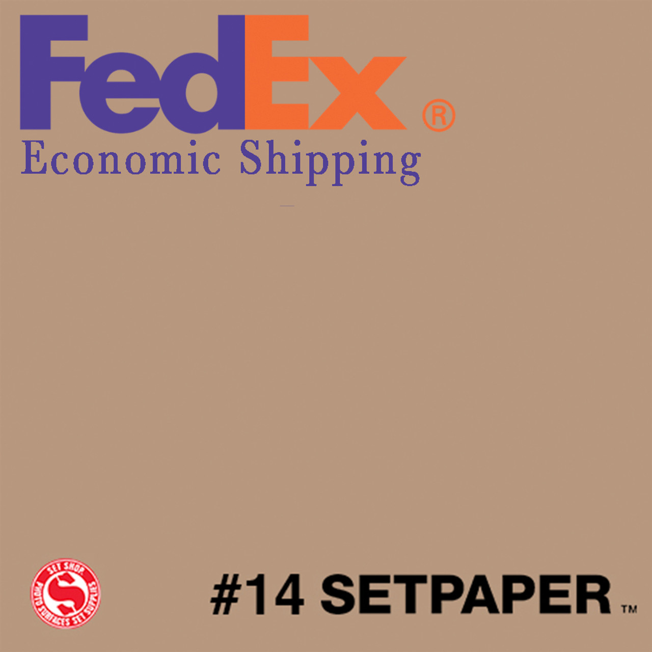 "(ECONOMIC SHIPPING) SETPAPER - NATURAL 48"" x 36' (1.3 x 11m)"