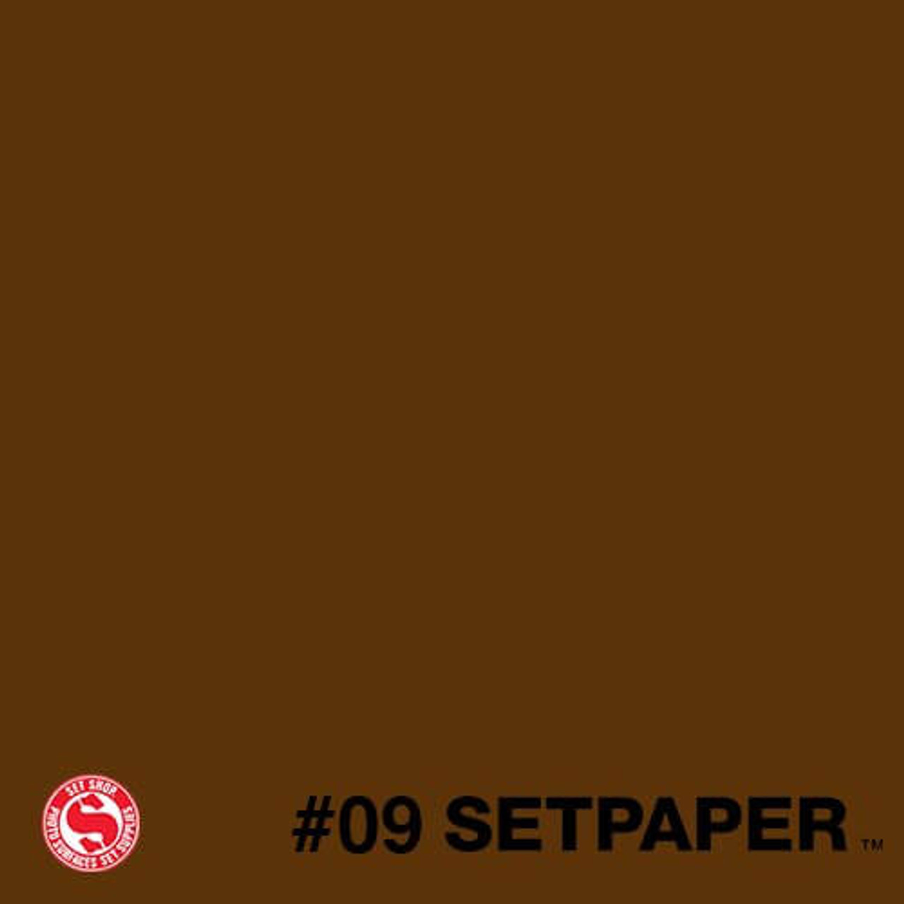 "209 SETPAPER - DARK BROWN 26"" x 36' (0.66m  X 11m)"