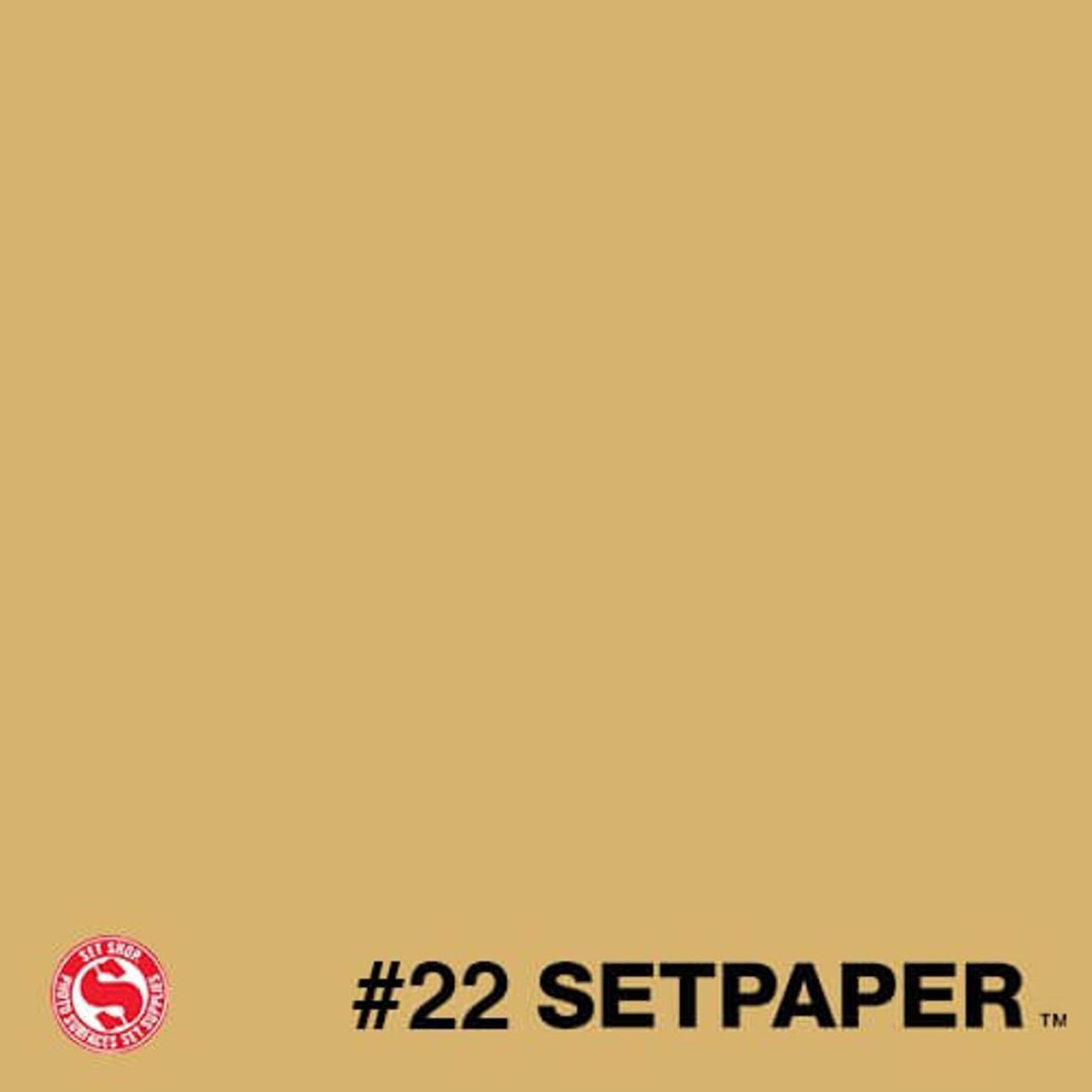 """222 SETPAPER - BUFF 26"""" x 36' (0.66m  X 11m)"""