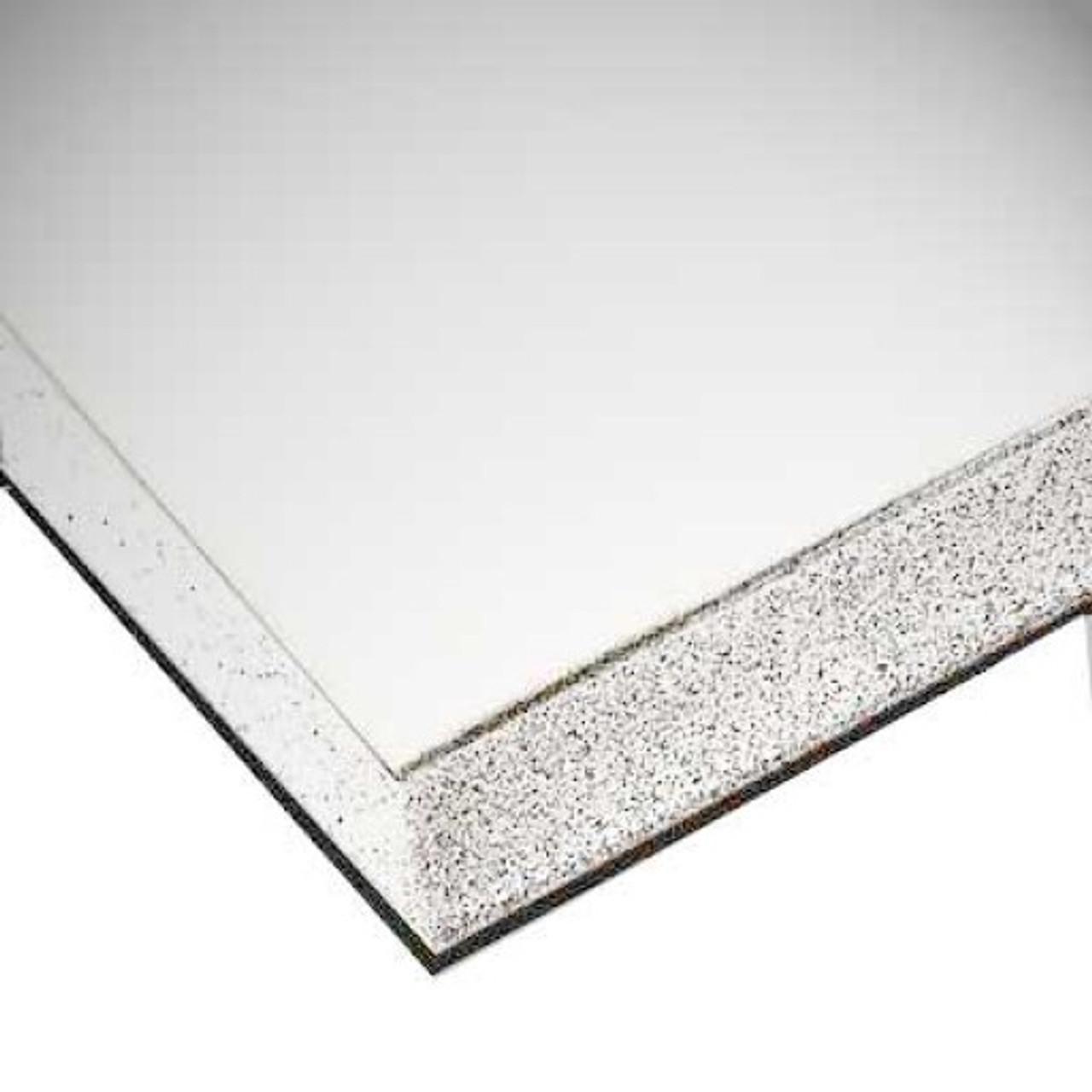 "Gator Board - White - 4' X 8' X 3/16"""